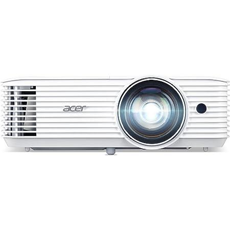 Acer H6518sti Kurzdistanz Dlp Beamer Full Hd 1 920 X 1 080 Pixel 3 500 Ansi Lumen 10 000 1 Kontrast 3d Ready Hdmi Hdcp Audio Keystone Heimkino Heimkino Tv Video
