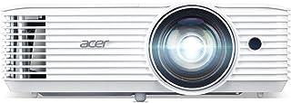 Acer H6518STi Kurzdistanz DLP Beamer (Full HD, 1.920 x 1.080 Pixel, 3.500 ANSI Lumen, 10.000:1 Kontrast, 3D Ready, HDMI (HDCP), Audio, Keystone) Heimkino