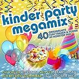Kinder Party Megamix - Die CD für den Geburtstag, Fasching und die Kinderparty