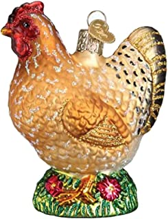Old World Christmas 16115 Ornament, Spring Chicken