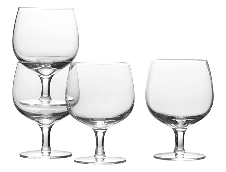 Mikasa Drink4 Stacking Wine Glass, 12.5-Ounce, Set of 4