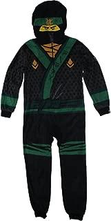 Ninjago Movie Lloyd Union Suit Costume Pajamas 4-12