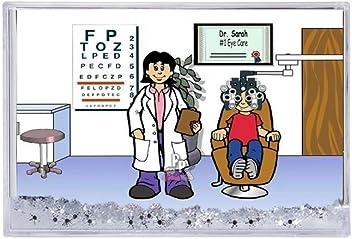 Amazon Com Printed Perfection Personalized Gifts Optometrist Female Ntt