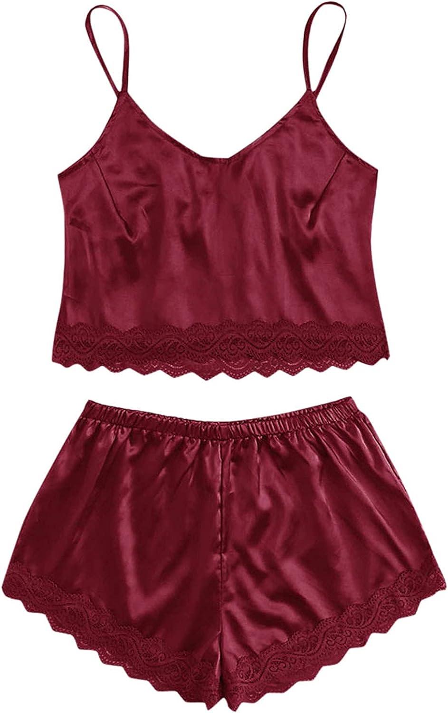 Regular dealer Jasalu 2Pcs Sexy Lace Fashionable Lingerie for Color Suspenders Women Basic