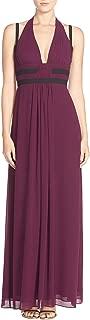 BCBG Max Azria Women's Margarette Chiffon Pleated Evening Dress