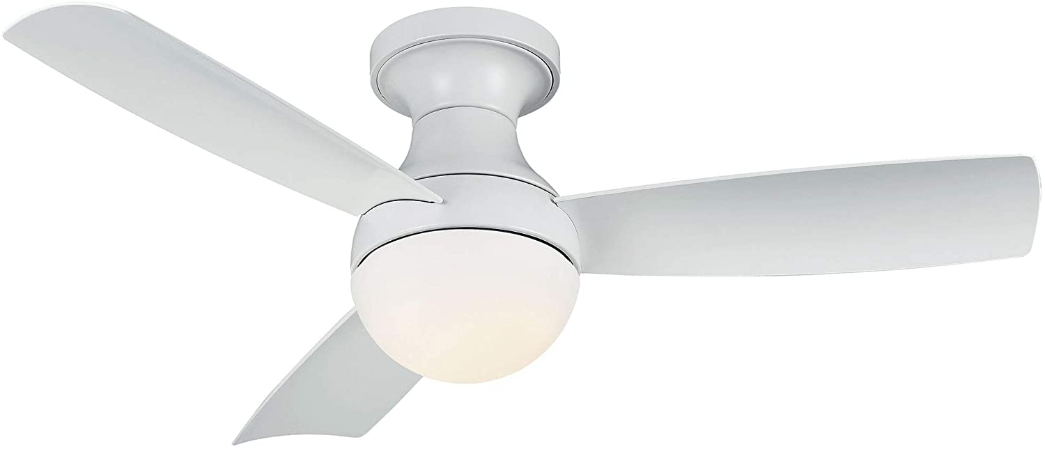 Orb Indoor and Outdoor Washington Mall 3-Blade Smart Ceiling Fan Mount 44i Flush Max 68% OFF