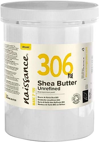 Naissance Beurre de Karité Brut BIO (n° 306) - 1kg - 100% pur, non raffiné, naturel et certifié BIO - Malaxé à la mai...