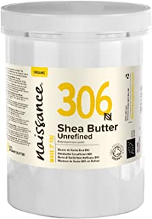 Naissance Organic Unrefined Shea Butter 1kg. 100% Pure & Natural