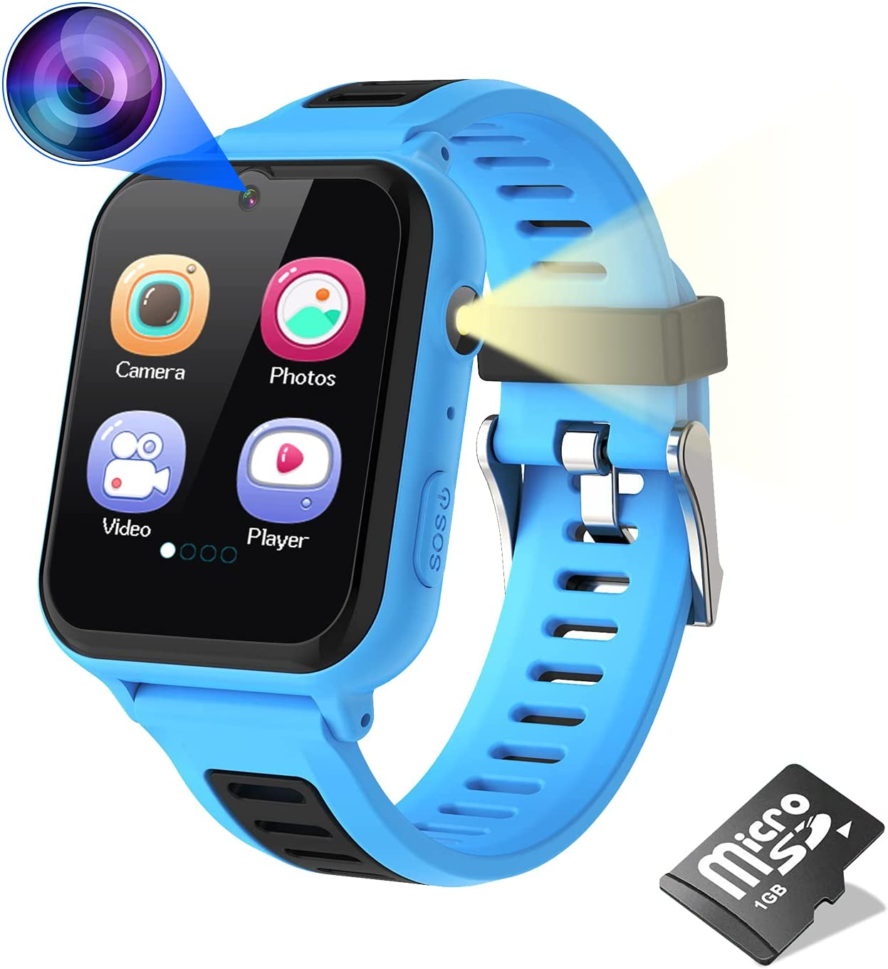 Trust Choice Smart Watch for Kids Boys Games with C 14 Girls