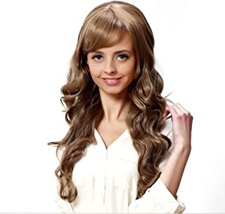 Hocus Pocus Wig Women Full Head Curly Hair Fluffy Pear Flower Wigs with Big Wavy Long Curly Hair Wigs leilims (Color : Brown)