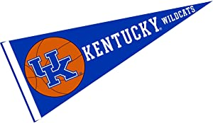College Flags & Banners Co. Kentucky UK Wildcats Basketball Pennant