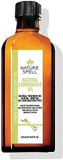 Nature Spell Lemongrass Treatment Oil For Hair and Body, 150 ml