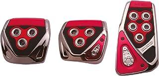 カーメイト 車用 ペダルセット RAZO GT SPEC MT-S クレスタ 他 カーボン レッド RP104RE