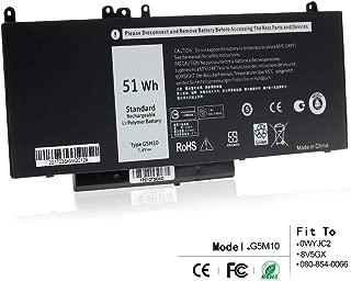 LQM G5M10 Laptop Battery for Dell Latitude E5450 E5550 8V5GX R9XM9 WYJC2 1KY05 (E5450)