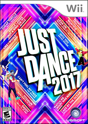 Ubisoft Just Dance 2017 Wii Básico Nintendo Wii Inglés vídeo - Juego (Nintendo Wii, Danza, Modo multijugador, E10 + (Everyone 10 +))