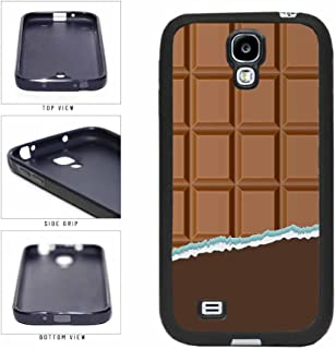Yummy Unwrapped Chocolate Bar TPU RUBBER Phone Case Back Cover Samsung Galaxy S4 I9500 includes BleuReign(TM) Cloth and Warranty Label