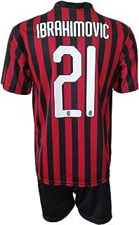 comprar comparacion L.C. Sport Milan Zlatan Ibrahimovic 21 Réplica autorizada 2019-2020 para niño (tallas-años 2 4 6 8 10 12) Adulto (S M L XL)