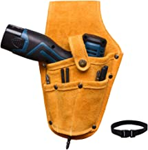 Kit de reparación de bolsas de taladro eléctrico, bolsa de herramientas para taladro eléctrico ,taladro eléctrico recargable bolsa de cintura, apto para electricistas, carpinteros, etc.