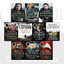 Bernard Cornwell The Last Kingdom Series 10 Books Collection Set (The Last Kingdom, The Pale Horseman, The Lords of the No...