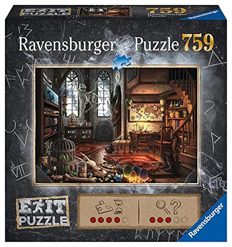 Ravensburger EXIT Puzzle 19954 - Drachenschloss: Im Drachenlabor - 759 Teile Puzzle für Erwachsene und Kinder ab 12 Jahren