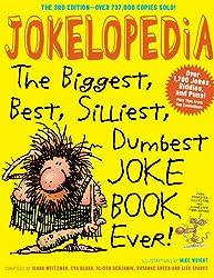 Jokelopedia - Hilarious joke book will keep kids reading