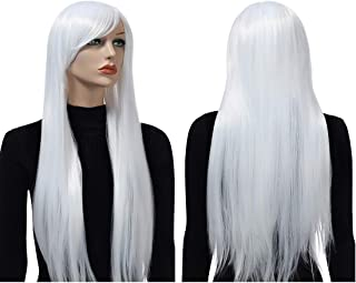 white hair halloween costumes
