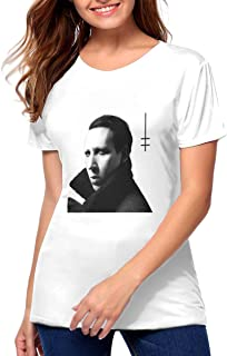 Nice Heaven Upside Down T Shirts for Women Great Match with Jeans,Pants,Leggings,Shorts