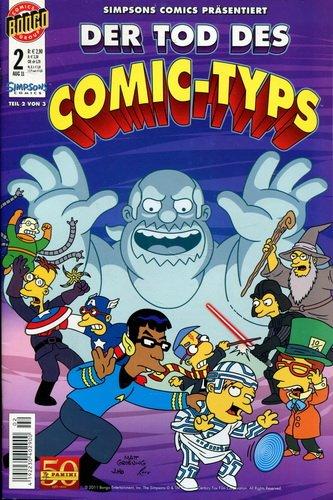 Simpsons Comic präsentiert: Der Tod des Comic- Typs! Teil 2 von 3 (2011, Panini)