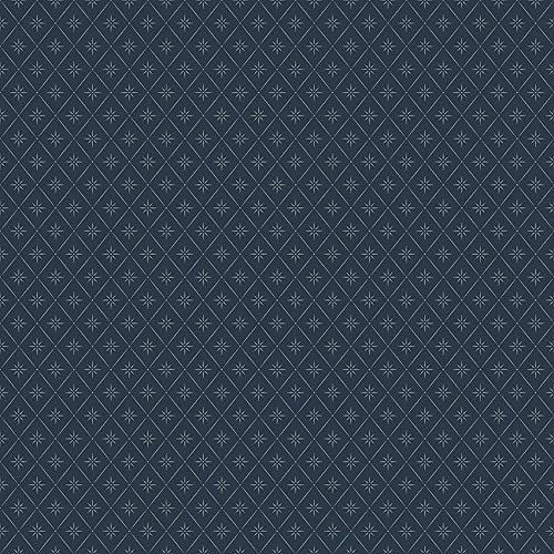 Coordonne Papel de Parede Losangos e Estrelas Azul-marinho A30917957
