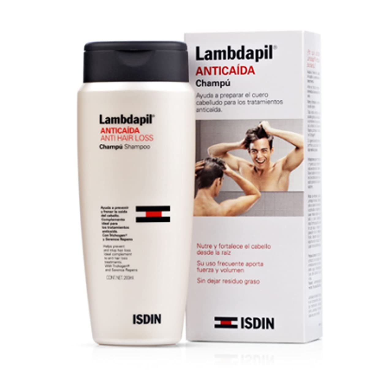 高齢者楽しむ肉屋Isdin Lambdapil Hair Loss Shampoo 200ml [並行輸入品]