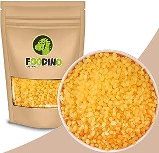 Foodino Bienenwachs Pastillen gelb ohne künstliche Aromen naturbelassen Bienenwachs Pastillen ungeschwefelt Honig Duft 500g – 2,5kg wiederverschließbar Premium Qualität 500g