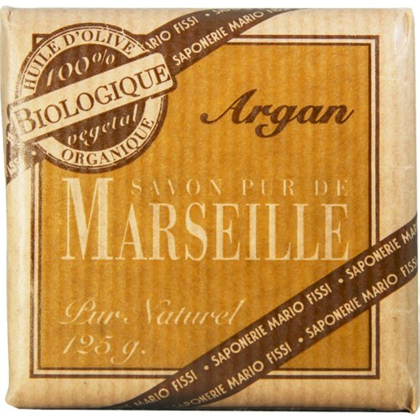 技術的な余韻黙Saponerire Fissi マルセイユシリーズ マルセイユソープ 125g Argan アルガン