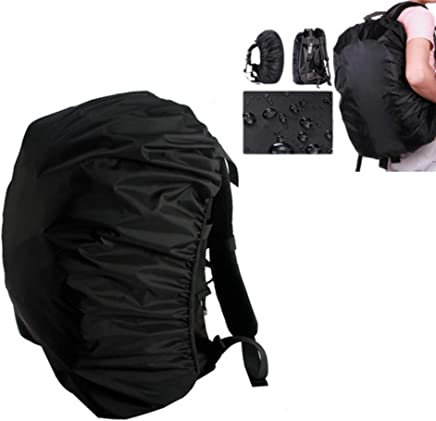 Stylastra Waterproof Bag Cover for Travel Camping Hiking Dust Rain Cover with Free Pouch (30L-40L