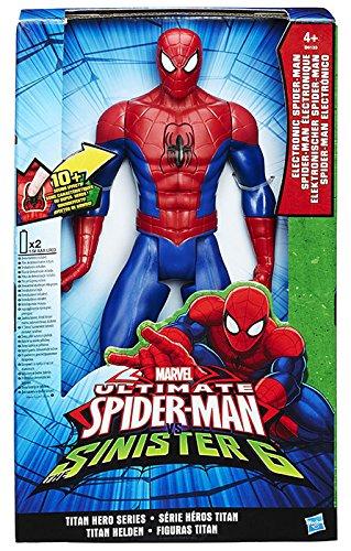 Spider Man/Agent Venom - Personaggio Elettronico, Modelli Assortiti, 1 pezzo