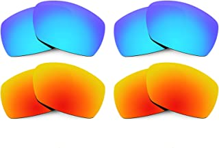 Revant Replacement Lenses for Smith Dockside 4 Pair Combo Pack K022