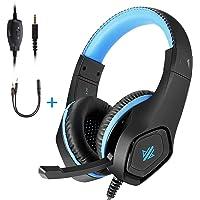 OKOMATCH Over-Ear Gaming Headphones (Blue)