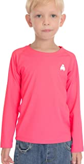 Boys Girls Long Sleeve Tops - Youth Compression Shirts...