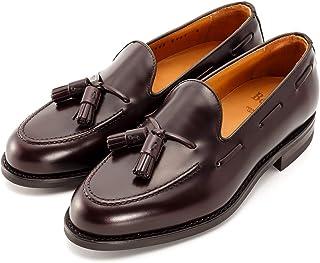 [バーウィック] タッセル ローファー 紳士靴 革靴 メンズ ダークブラウン 8491 ダイナイトソール ROISレザー素材 グットイャー製法 スペイン製