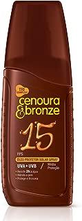 Protetor Solar Óleo Spray Fps15, Cenoura e Bronze, 110 Ml