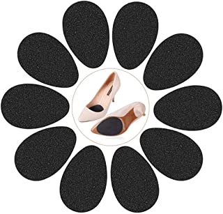 Non-Skid Shoe Pads Non-Slip Shoe Stickers Large Self-Adhesive Shoe Grip, 9cmx6.5cm,Pack of 10