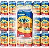 Colombiana La Nuestra Kola Flavored Soda, 12oz Can (Pack of 15, Total of 180 Fl Oz)