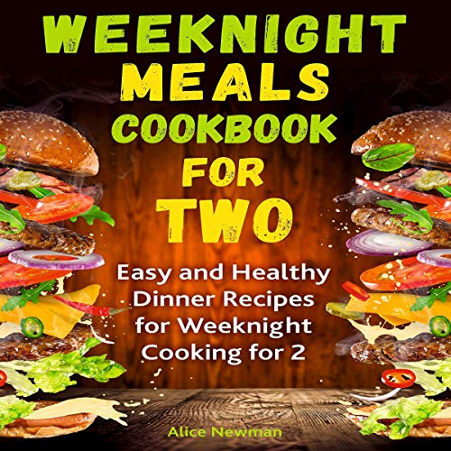 Weeknight Meals Cookbook for Two cover art
