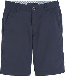 Tommy Hilfiger Boys Performance Golf Shorts Slim, Breathable, Kids School Uniform Clothes