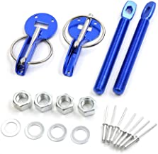 uxcell Universal Trunk Spring Fastener Hood Pin Lock Kit Silver Tone for Car Vehicle a17122300ux0229
