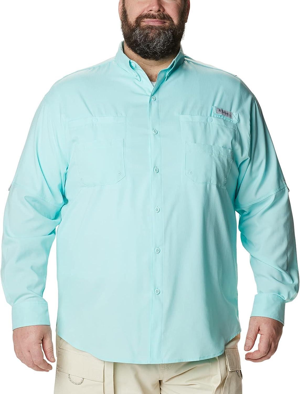 Columbia Men's Plus Tamiami II Long - Shirt Gulf Stream Low price Oakland Mall Sleeve