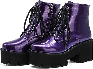 Platform - Purple / Boots / Shoes