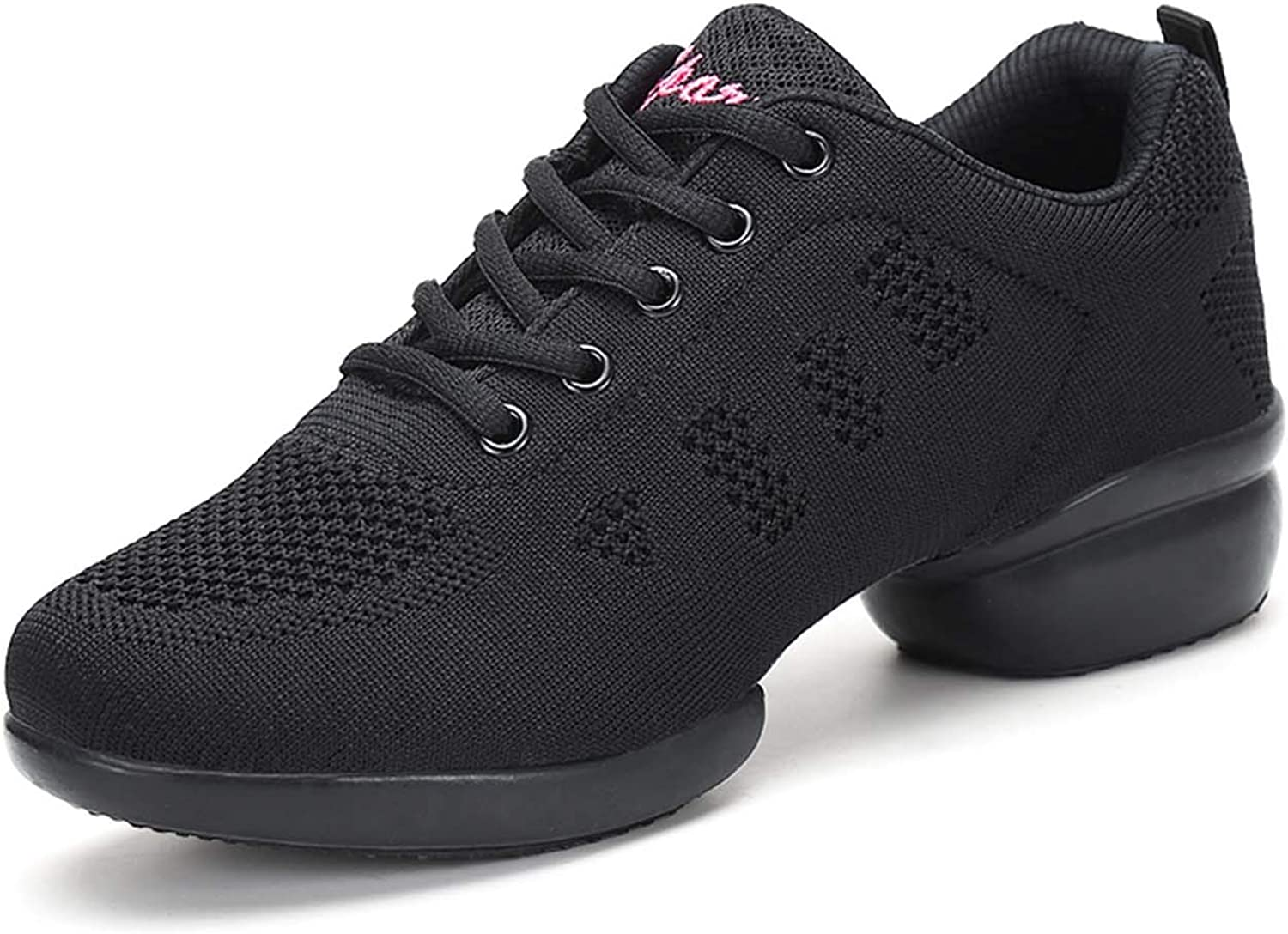 CERYTHRINA List price Women's Jazz Quantity limited Shoes Lace-up Dance Sneakers Shoe Modern
