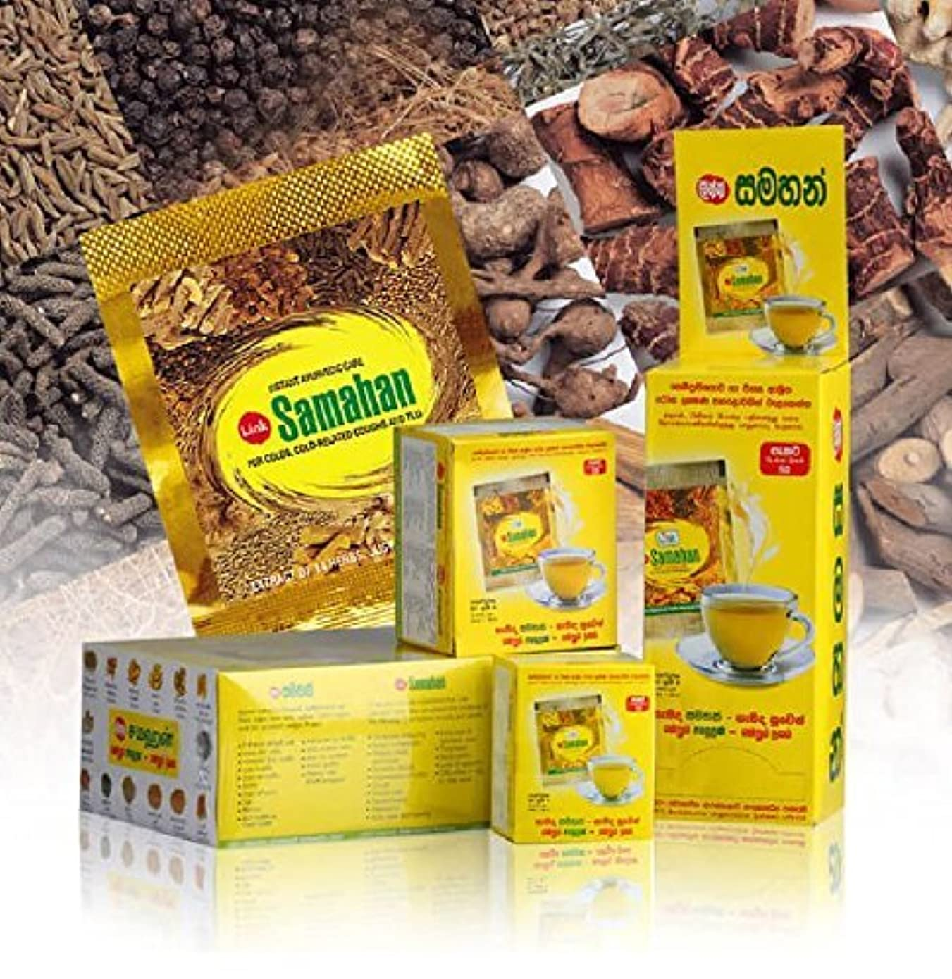 ミッションタール影響を受けやすいです25 Packs Link Samahan Ayurvedic Herbal Tea Packets by link natural