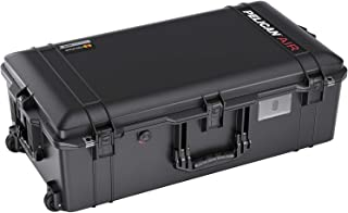 Pelican Air 1615 Case with Foam (2020 Edition with Push Button Latches) - Black (016150-0001-110)
