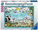 Ravensburger- Sheepworld Unter Dem Meer bajo el mar, Multicolor (15008) , color/modelo surtido